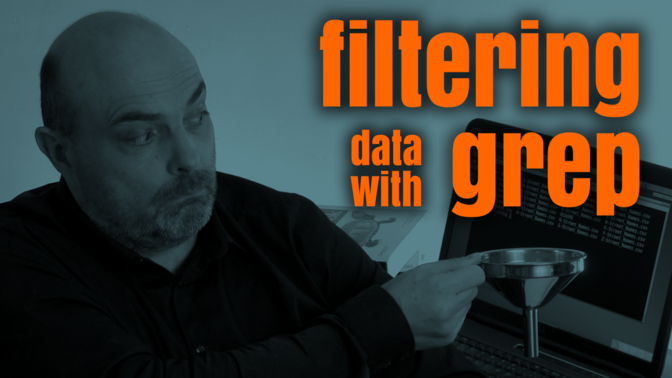 How to filter data using Grep